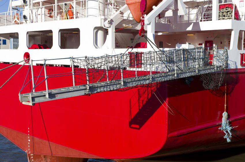 gangway nets for boats and ships