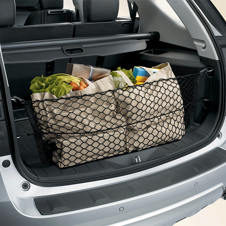Cargo Net example in car