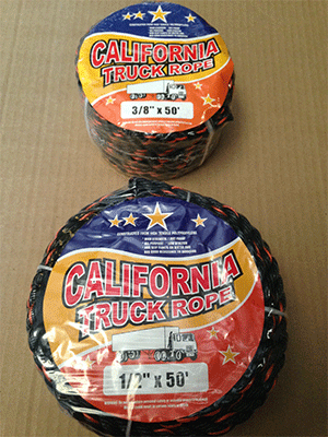 California Truck Rope