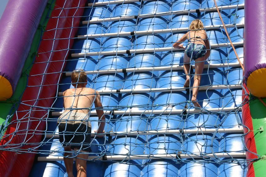 Round Rung Rope Ladders