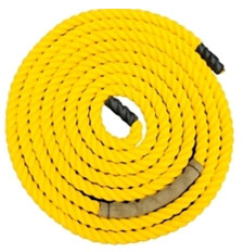 Runge Rope Yellow by Pacific Fibre and Rope