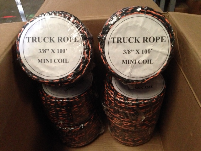 California Truck Ropes by the Box