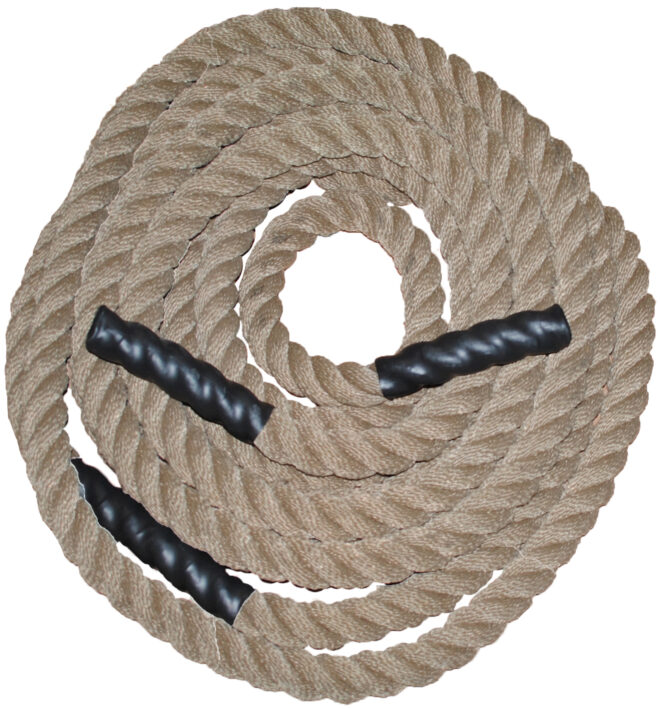 Tan Nylon Undulation Rope by Pacific Fibre and Rope